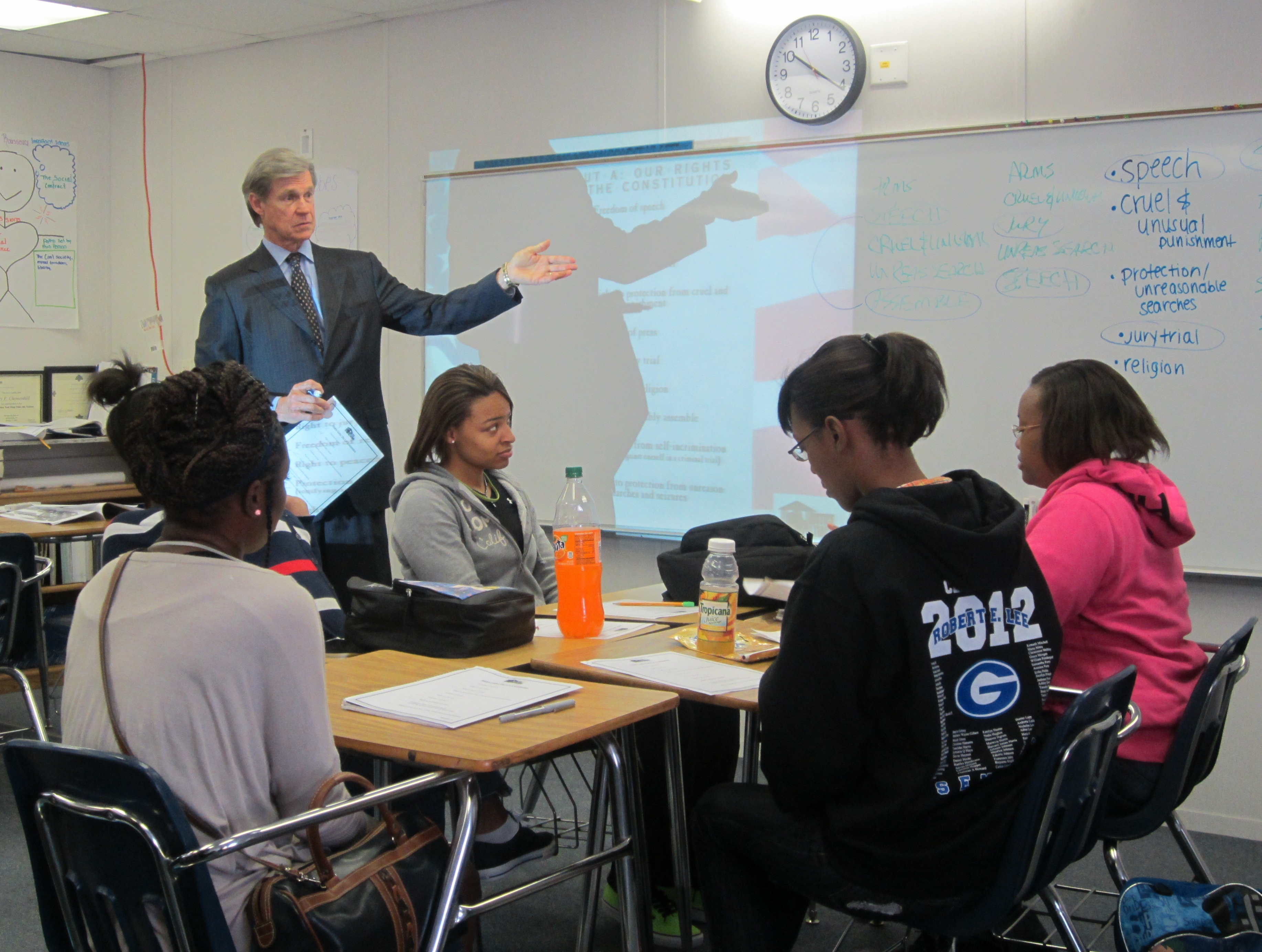Lee High School Students Get Real Life Lesson in Bill of Rights – Bill of Rights Worksheet High School