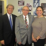 Wayne Hogan with Harry Reagan and April Seliga of Tobacco Free Jacksonville