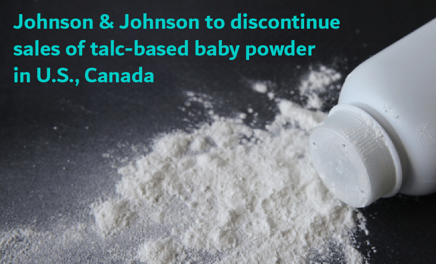 Johnson And Johnson Stops Selling Their Baby Powder In Us And Canada Terrell Hogan