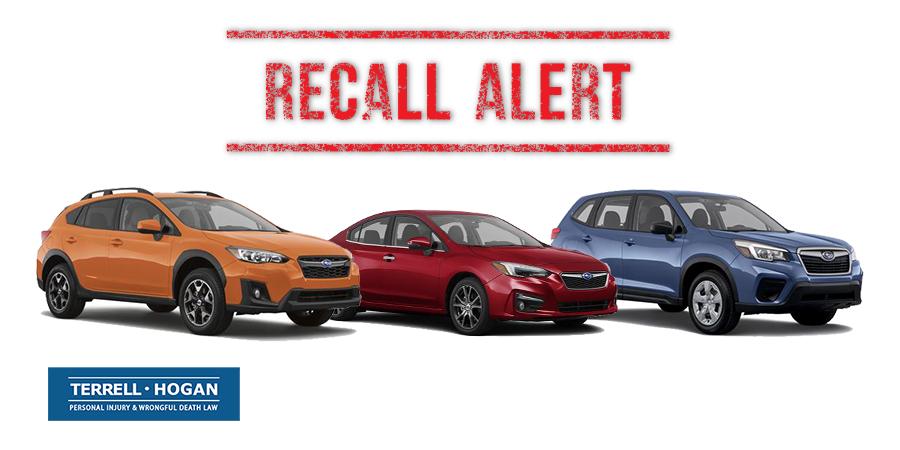Subaru Crosstrek, Impreza, and Forester included in recent recalls